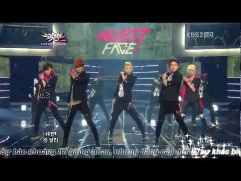 Vietsub Face – Nuest (MusicBank)
