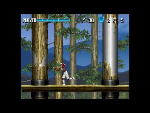 SHIN SHINOBI DEN  - STAGE 2 & 3 (cutscenes included) Sega Saturn playthrough part2