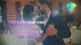 Jiska Mujhe Tha Intezar with lyricsजिसका मुझे था इंतज़ार गाने के बोलDonAmitabh Bachan, Zeenat Aman