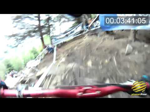 Fort William Downhill World Cup On Course Footage 2011 planetFear