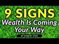 Фрагмент с начала видео 9 Signs Wealth is Coming You Way - Get Rich - Be Abundant