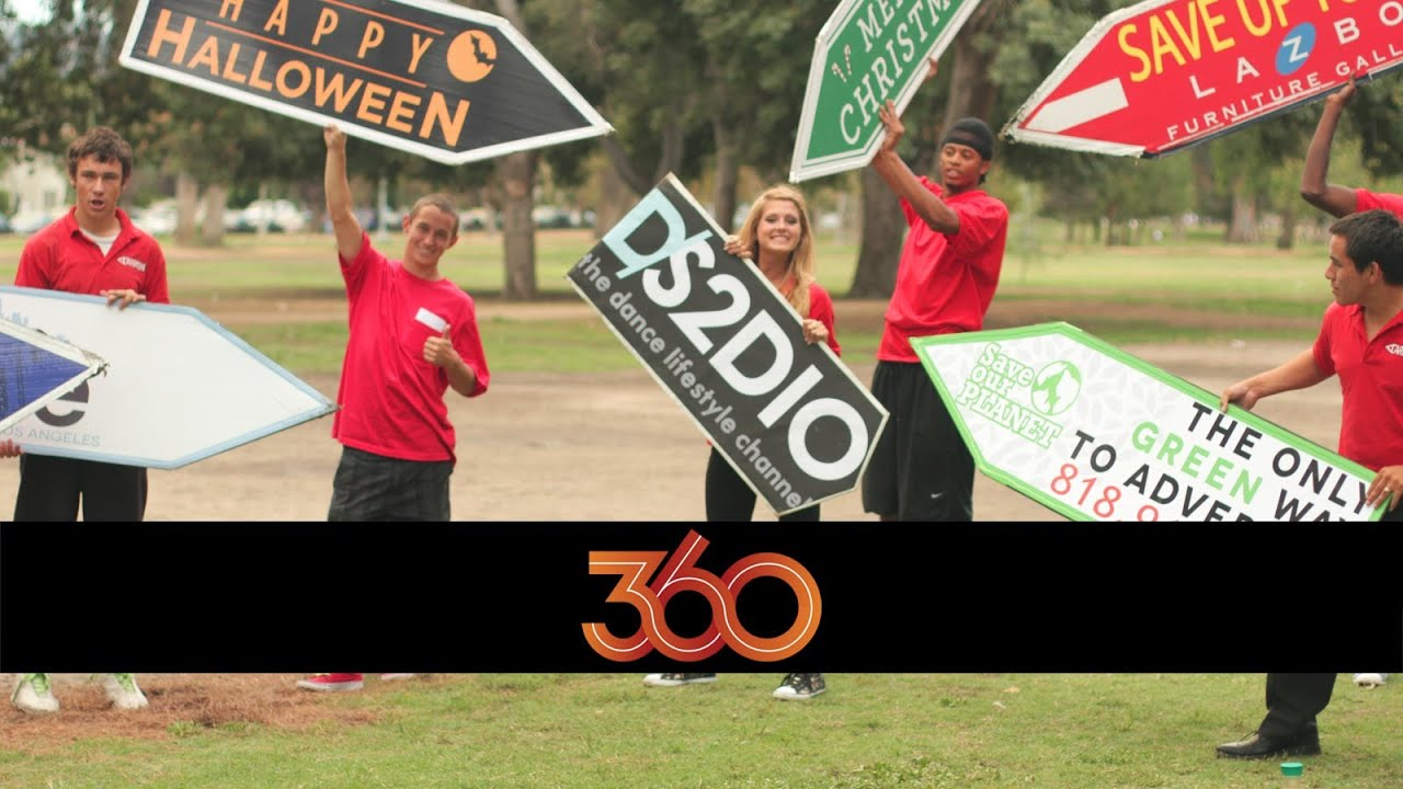 DS2DIO 360 Dance Spotlight: Sign Spinning with Cameron!