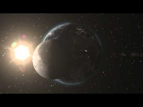 After effects 3D Earth/Moon Zoom - Space Objects
