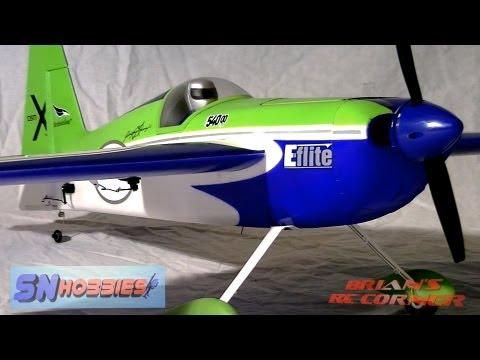 SN Hobbies - E-Flite Edge 540QQ 280: Review and Flight Testing - UCqFj04rRJs6TJIwsVvCQK6A