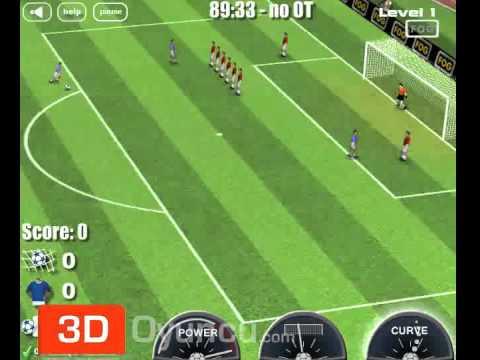 Frikik - 3D Oyuncu