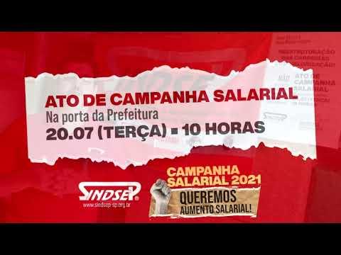 Vlamir Lima convida todos e todas para participarem do ato da campanha salarial no dia 20
