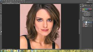 Basic Portrait Edit in Photoshop CS6