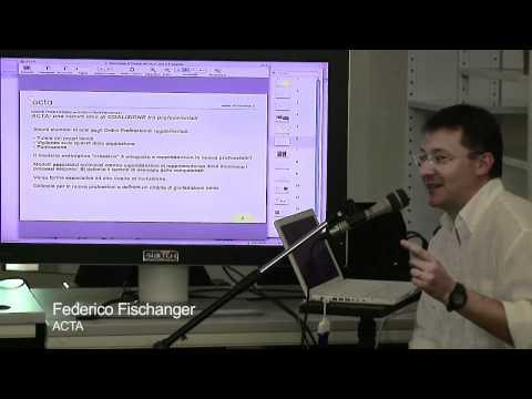Ordini professionali versus nuove professioni, Federico Fischanger 7 di 10