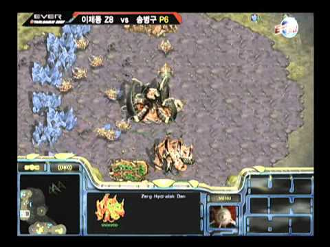 EVER2007 OSL  Jaedong vs Stork 2007-12-22  @ Persona