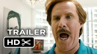 Anchorman 2 Official Super-Sized TRAILER (2014) Will Ferrell, Steve Carell Movie HD