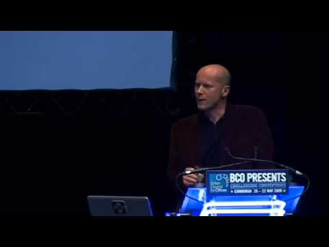 PART 2 - Michael Pawlyn debate with Bjorn Lomborg at the BCO 2009 conference