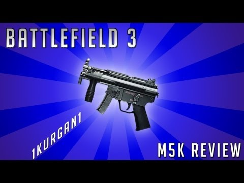 Battlefield 3 - M5K - PDW Review - Armored Kill | BF3 M5K Gameplay