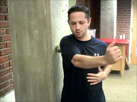 Self Trigger Point & Active Release for Posterior Shoulder Mobility - A Sleeper Stretch Alternative