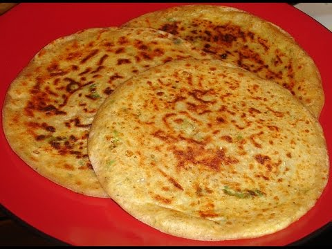 Quick Chef Dec. 26 '10 - Vegetable Sichuan Paratha