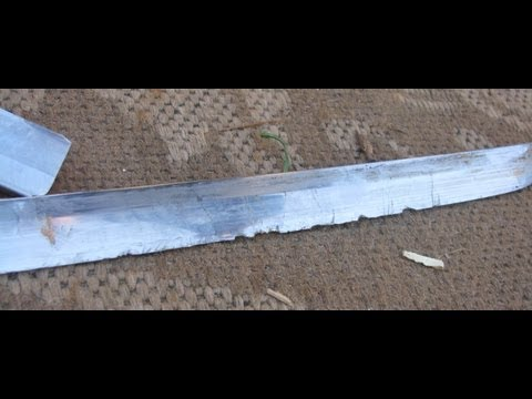 Ronin Katana Samurai Sword Destruction Testing Sword vs Sword Sword vs Bat Sword vs Copper Pipe