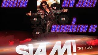 Glimpses of SLAM! The Tour @ Houston, New Jersey & Washington DC