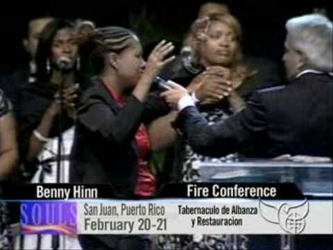 Benny Hinn - Anointing Rains in Santo Domingo