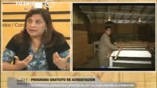 Entrevista a la Directora Ejecutiva de CITEmadera, Jessica Moscoso Guerrero.
