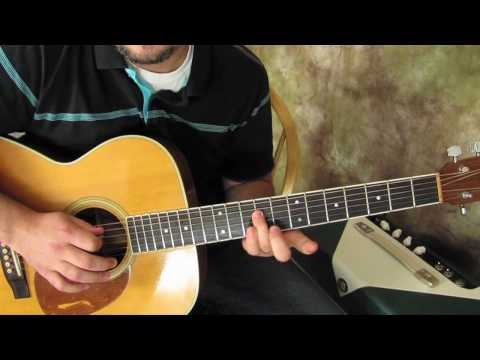 Jack Johnson - Good People - Acoustic Guitar lesson - How to Play on Guitar