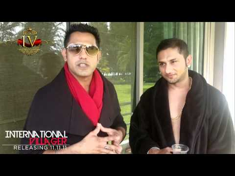 INTERNATIONAL VILLAGER SHOUT OUT - GIPPY GREWAL & YO YO HONEY SINGH
