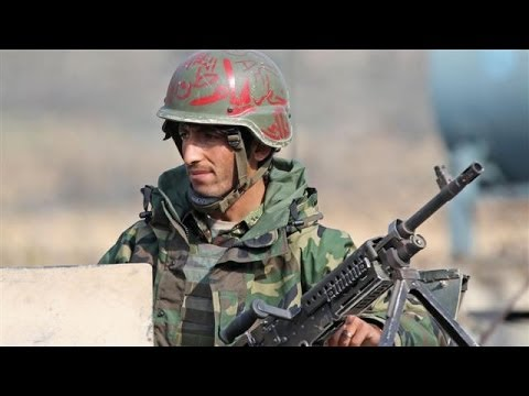 Afghan Army Mourns Soldiers Killed in (Taliban) Attack