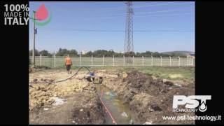 PST Technology - Football field irrigation system