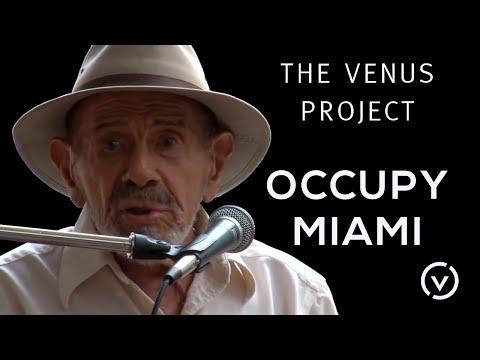 The Venus Project-Occupy Miami-Nov.20, 2011