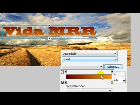 Curso de Adobe Fireworks CS4 - Texto de cristal