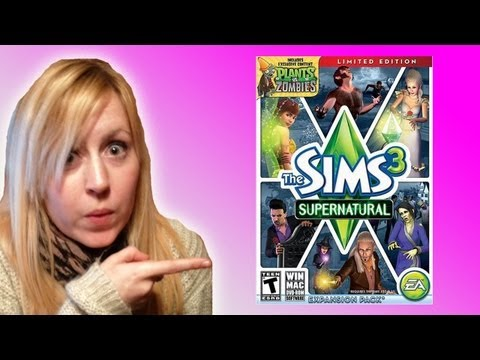 Sims 3 supernatural expansion pack!