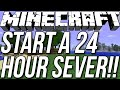 How To Start A 24/7 Server In Minecraft 1.8.3/1.8.4!!