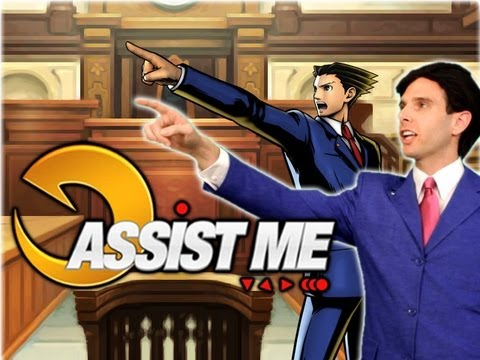 -ASSIST ME!- - Phoenix Wright and Iron Fist: Ultimate Marvel vs Capcom 3 Live Action Tutorial