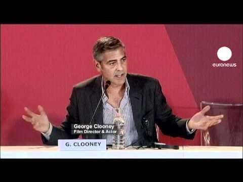 euronews cinema - George Clooney, acteur et réalisateur, à la Mostra