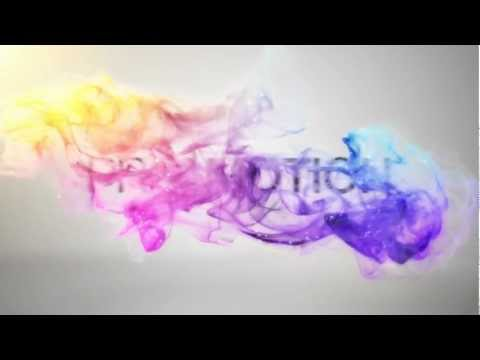 After Effects Template : Colorful Particles Logo Reveal II