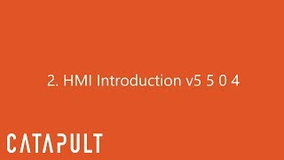 HMI Introduction