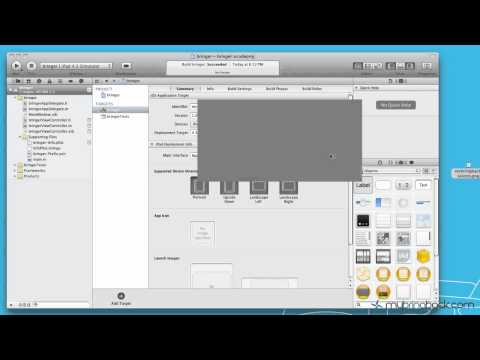 Learn Xcode 4 Tutorial iOS iPad iPhone 1.6  Customizing App Icon