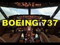 Полет на тренажере самолета  BOEING 737 NG.