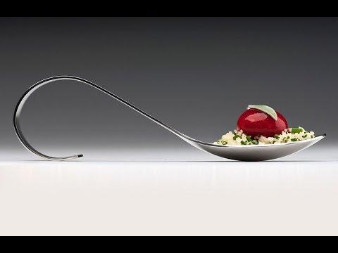 Molecular Gastronomy - Raspberry ravioles - Ravioles de framboises