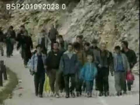 bosnia refugees & relief supply line 20.10.92