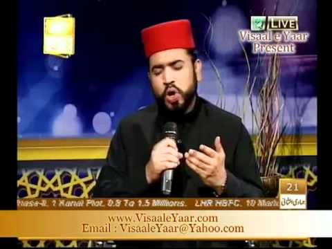 URDU NAAT( Apni Nisbat Se)AFZAL NOSHAHI IN QTV.BY  Naat E Habib