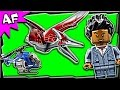 Lego Jurassic World PTERANODON Capture 75915 Stop Motion Build Review