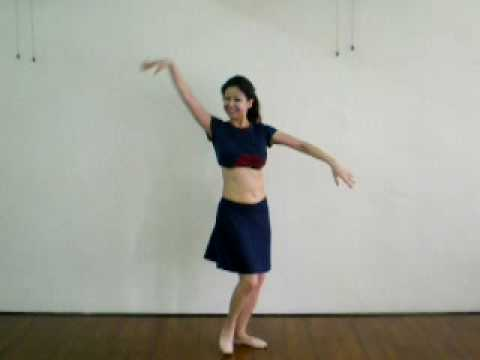 Basic Drum Solo Belly Dance Practice (Level 1) With ELi (elsadance.asia) In Malaysia