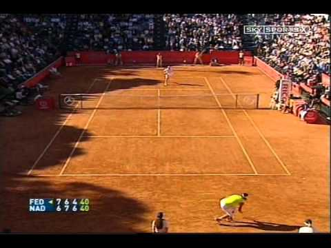 Federer vs Nadal MS Rome 2006 Extended Highlights