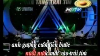 Không thể khóc trước mặt em - karaoke