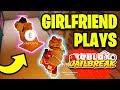 MY GIRLFRIEND PLAYS JAILBREAK FOR THE FIRST TIME! (Roblox Jailbreak)