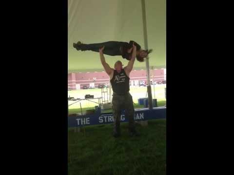 The Strong Man John Beatty Girl lift