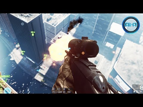 Ali-A Plays BF4! - Battlefield 4 MULTIPLAYER Gameplay! - BF4 Sniping Online 1080p HD! (E3M13)