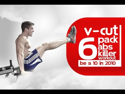V-Cut RIPPED 6-Pack Abs Killer Workout Be a 10 in 2010