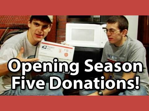 Microwave Show: Jory & Jon Open Your Donations!