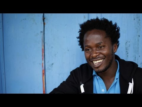 UNICEF Goodwill Ambassador Ishmael Beah in Central African Republic