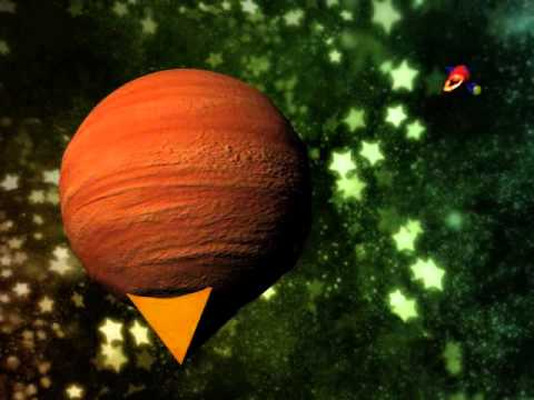 3D animation Galaxy Seyfert